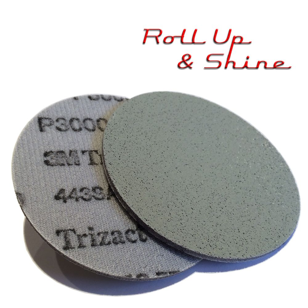 3M Trizact Clearcoat Sanding Disc 75mm P3000