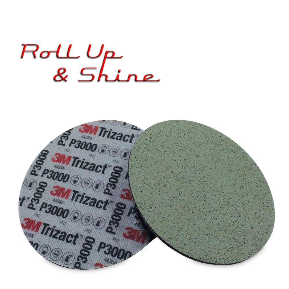 3M Trizact Clearcoat Sanding Disc 150mm P3000